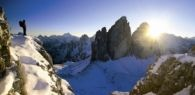 Winter in the Dolomites